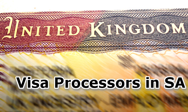 Visa Processors in South Africa